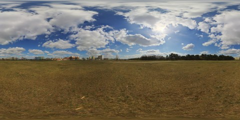Free hdri sky panorama