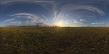 Free hdri sunset