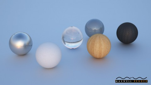 Test render of materials