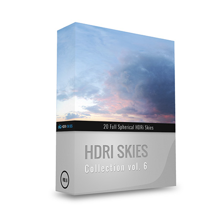 Box hdri skies collection 6
