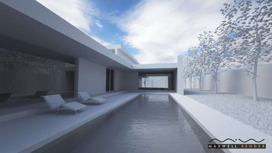 Architecture test render