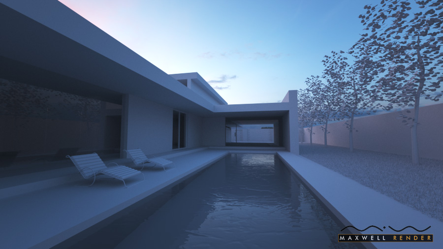 Architecture rendering test
