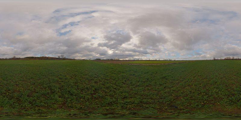 Overcast hdri sky map