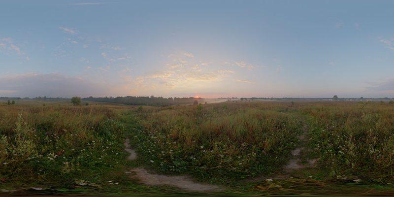 Dawn hdri sky