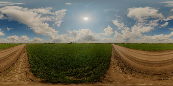 Noon sky hdr