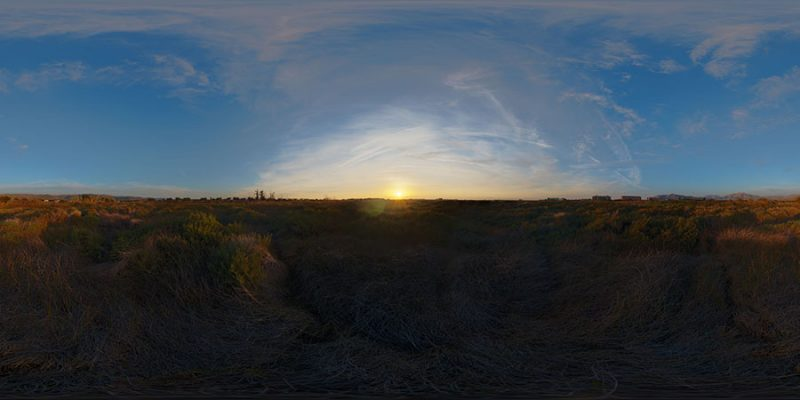 Sunrise HDR MAP
