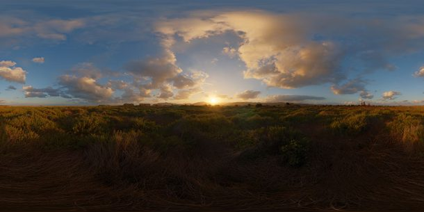 HDR SKY MAP