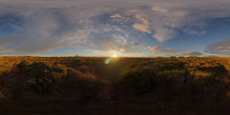 Sunrise HDR SKY MAP