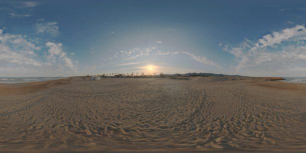 Sunset HDR SKY
