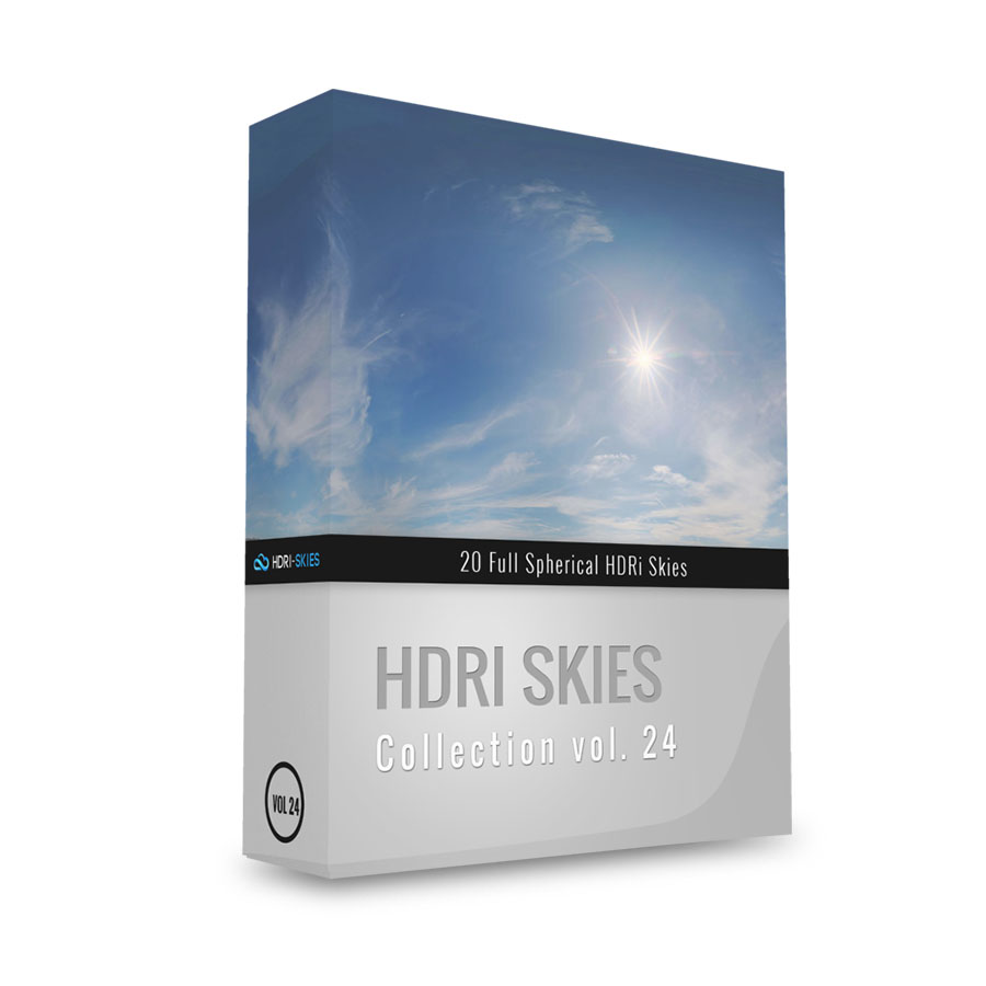 HDRI Skies pack 24 - NEW COLLECTION