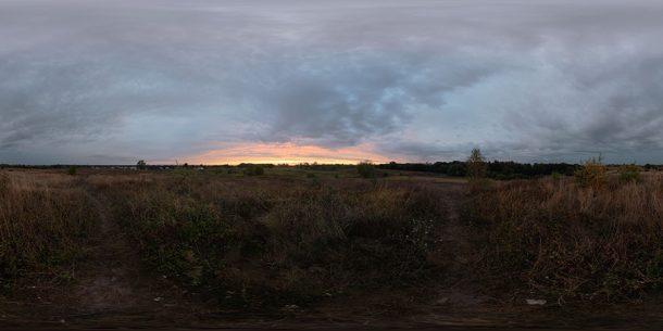 Free hdri sky dusk