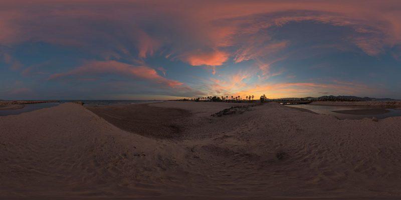 Free dusk HDR SKY